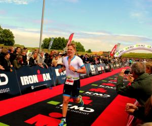 Triatlet Kasper Pedersen